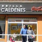 Con Lia, en Santa Rosa, Argentina, Sep 16