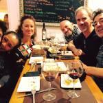 Con Cañizares, Mariko, hermi, Mauricio y Fermin. 7 Noviembre 17