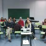 Con profesores del Conservatorio de Ontinyent