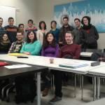 con alumnos del katarina 16 - 17